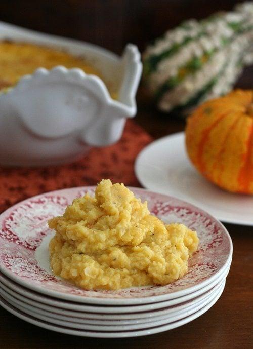 Butternnut Squash & Cauliflower Casserole