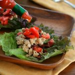 Low Carb Spicy Chicken Lettuce Wraps
