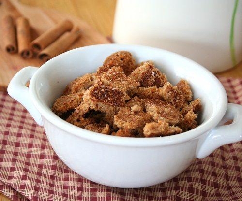 Gluten-Free Cinnamon Crunch Cereal