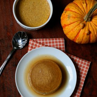 Low Carb Gluten-Free Pumpkin Flan