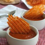 Low Carb Cheddar Crisps with Tabasco