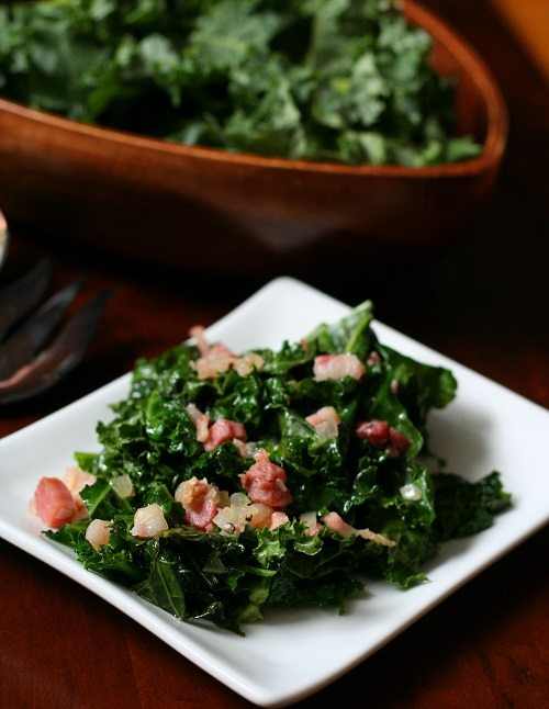 Quick And Simple Stir-Fried Kale And Bacon Recipes — Dishmaps