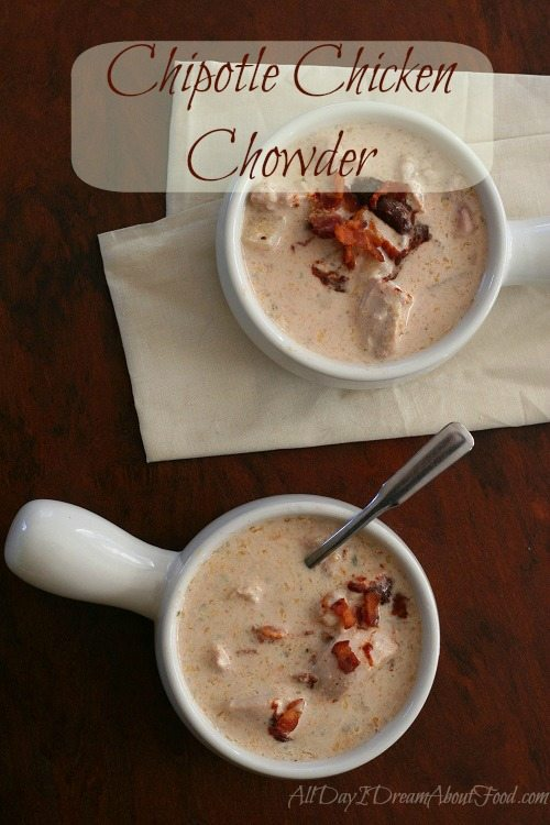 Low Carb Chipotle Chicken Chowder