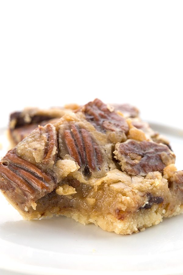 Low Carb Chocolate Pecan Pie Bar Recipe