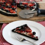 Low Carb Chocolate Cookie Pizza