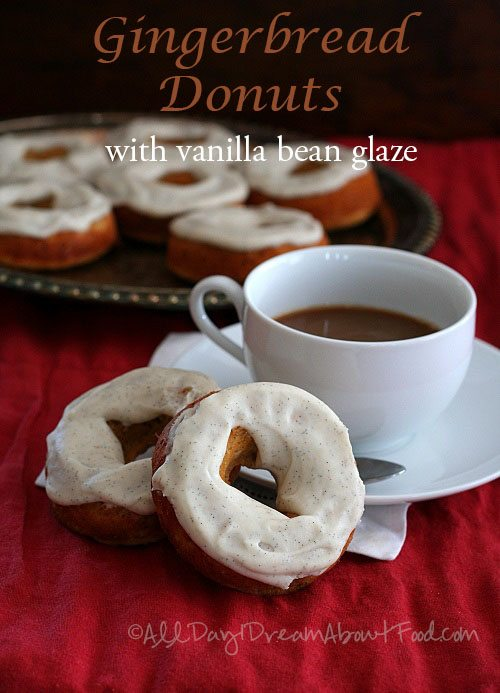 Low Carb Gingerbread Donuts