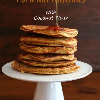 Pumpkin Coconut Flour Pancakes – Low Carb and Gluten-Free