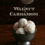 Low Carb Walnut Cardamom Snowballs