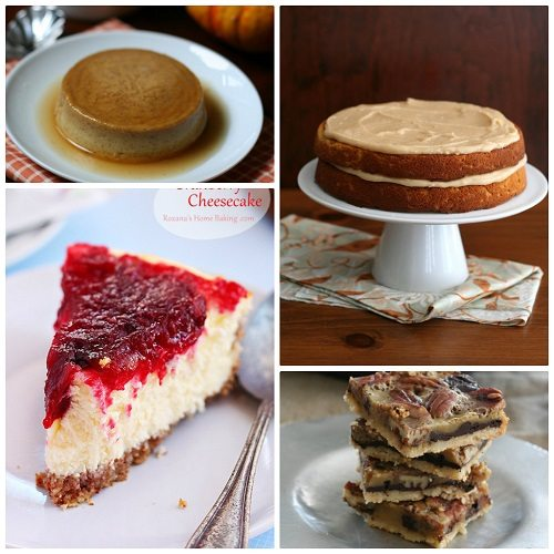 , Pumpkin Spice Cake with Brown Butter Frostiing, Chocolate Pecan Pie ...