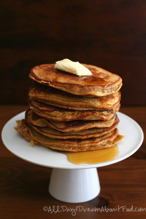 Gluten-Free Pumpkin Pancakes with coconut flour