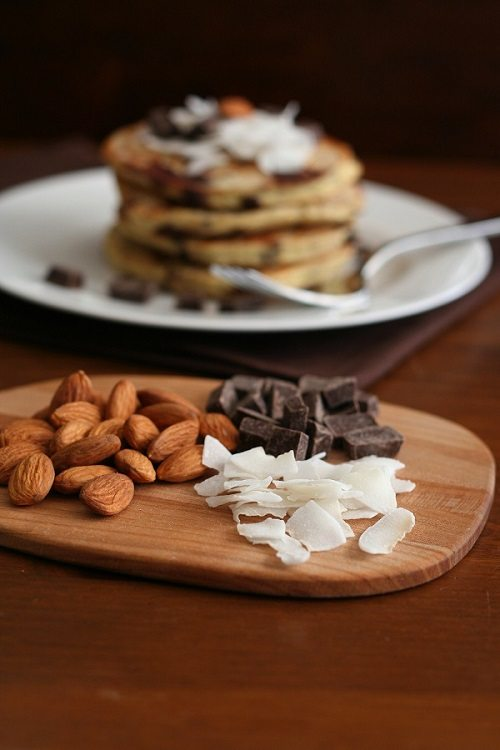 Almond Joy Pancakes Low Carb Coconut Flour