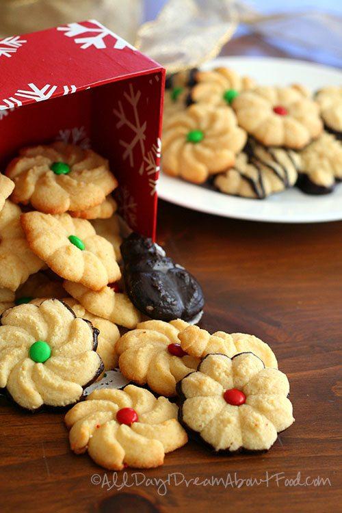 Low Carb Gluten-Free Spritz Cookie Recipe