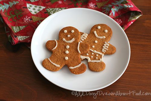 Low Carb Gluten-Free Gingerbread Men