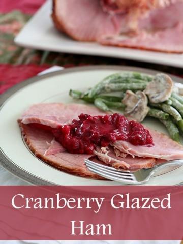 Low Carb Cranberry Glazed Ham Recipe