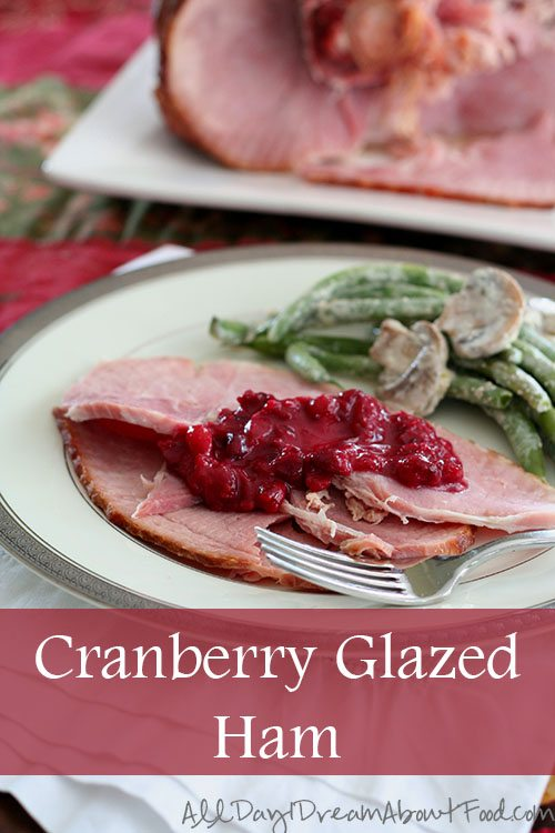Low Carb Cranberry Glazed Ham Recipe