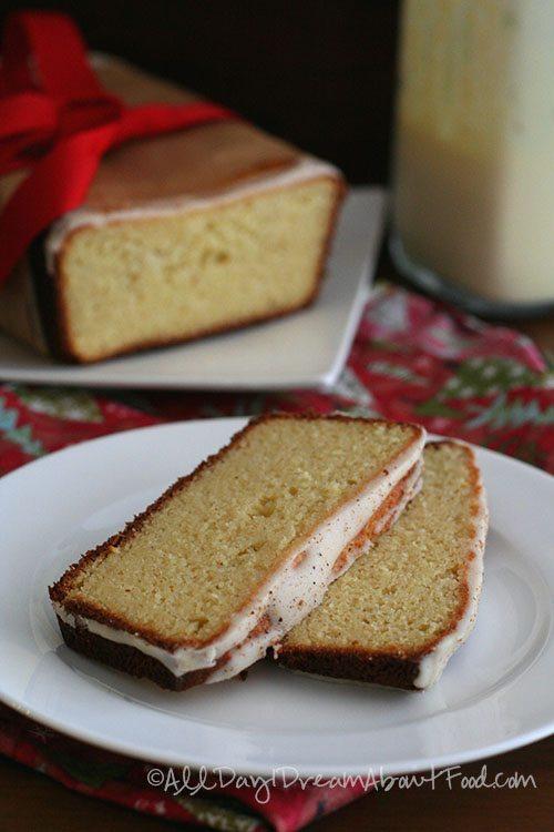 Low Carb Gluten-Free Sugar-Free Eggnog Bread