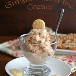 Low Carb Gingerbread Ice Cream