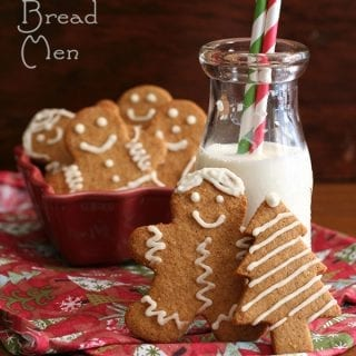 Keto Gingerbread Men Recipe