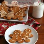 Low Carb Gingerbread Cut-Out Cookies