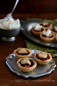 Low Carb Gluten-Free Mincemeat Tarts with Hard Sauce