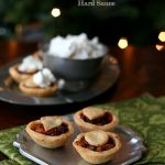 Low Carb Mincemeat Tarts with Hard Sauce