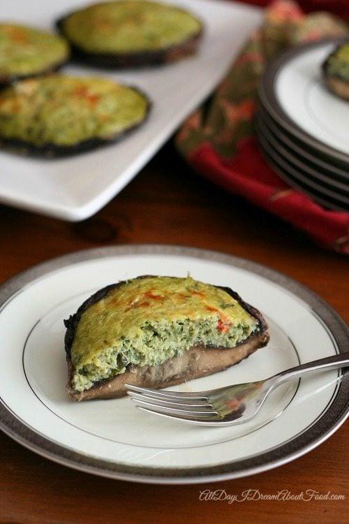 Low Carb Spinach Artichoke Quiche