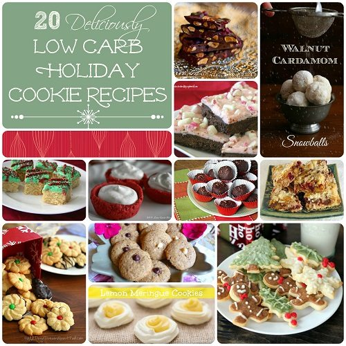 20 Low Carb Gluten-Free Holiday Cookie Recipes