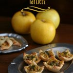 Low Carb Apple and Caramelized Onion Tarts