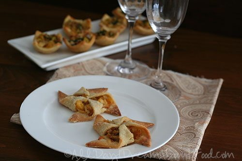 Apple & Caramelized Onion Pinwheels Low Carb Gluten-free
