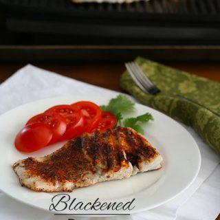 Low Carb Blackened Fish Recipe