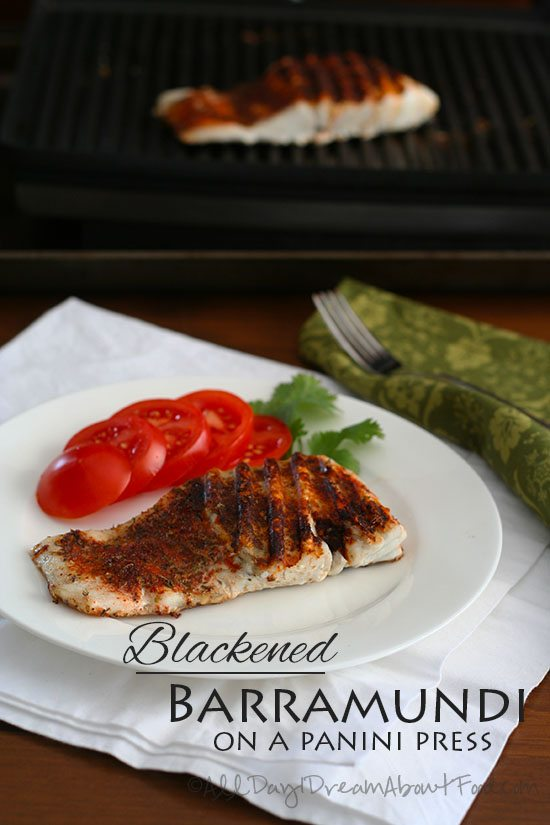Low Carb Blackened Fish Recipe
