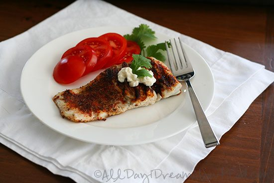 Blackened Barramundi Recipe