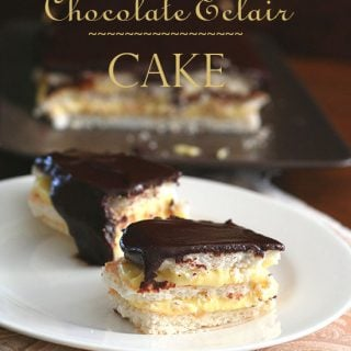 Chocolate Eclair Cake – Low Carb and Gluten-Free