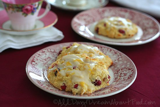 Low Carb Gluten-Free Cranberry Orange Scones Recipe