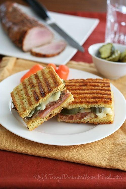 Low Carb Gluten Free Pressed Sandwich Recipe