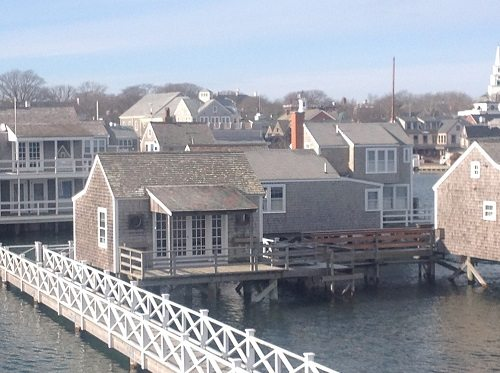 Nantucket from ferry