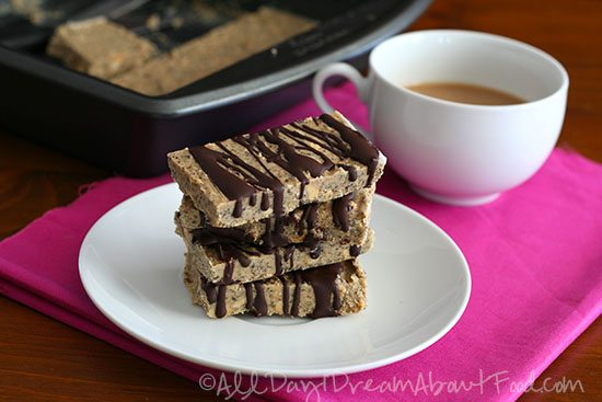 Low Carb Gluten-Free Peanut Butter Chia Breakfast Bars