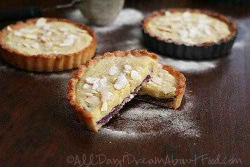 Low Carb Gluten-Free Raspberry Frangipane Tarts