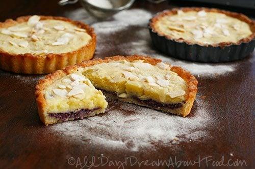 Gluten-Free Frangipane Tarts with Almond Flour