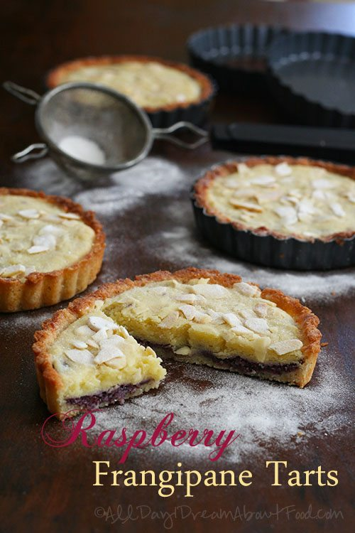 Low Carb Raspberry Frangipane Tarts