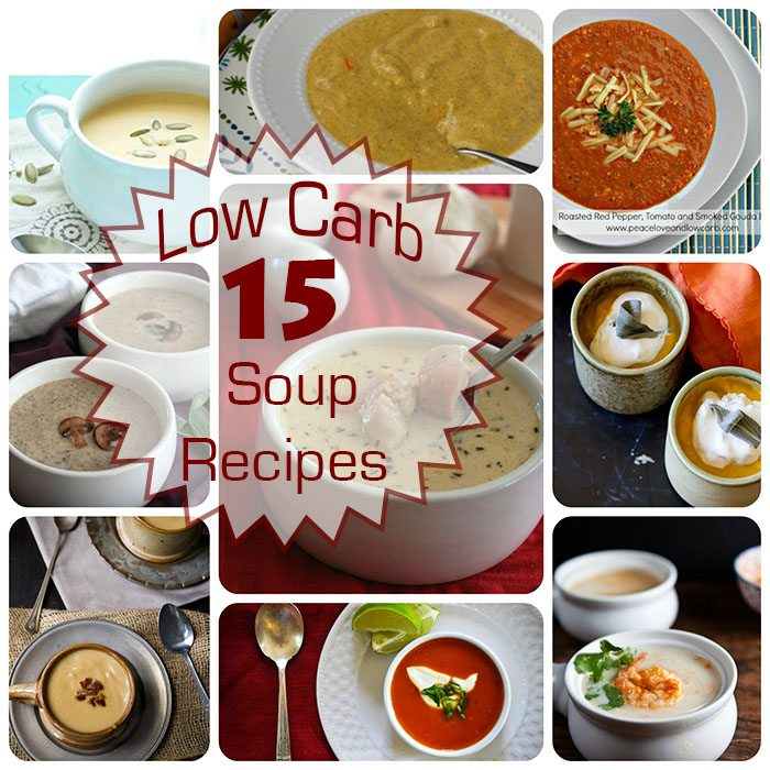 15 Fantastic Low Carb Soup Recipes
