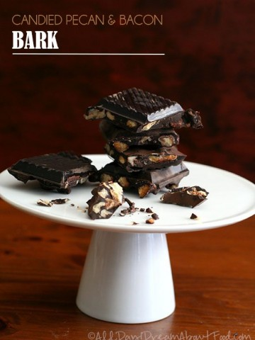 Low Carb Candied Pecan and Bacon Bark Recipe
