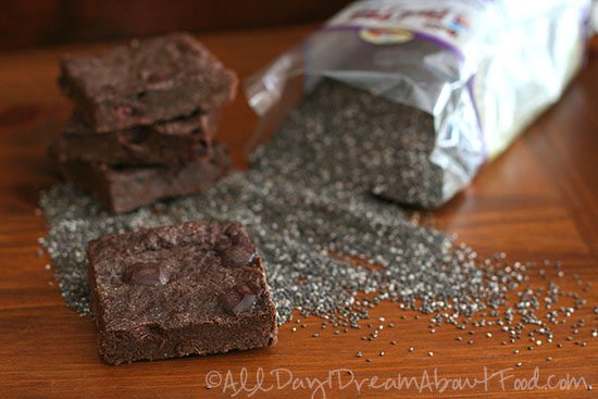 Sugar Free Chia Seed Brownies