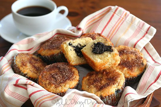 Low Carb Muffins with Homemade Sugar Free Nutella