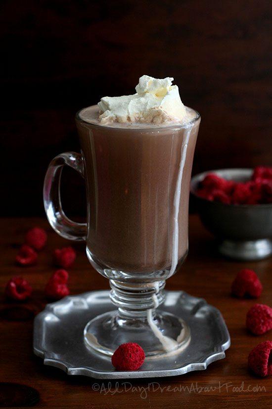 Low Carb Gluten-Free Raspberry Truffle Mocha Recipe