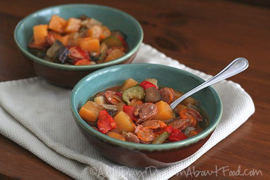 Paleo Vegetable Chorizo Soup Recipe