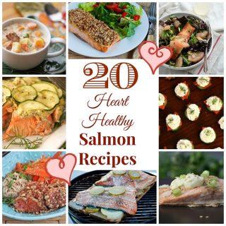20 Heart Healthy Salmon Recipes