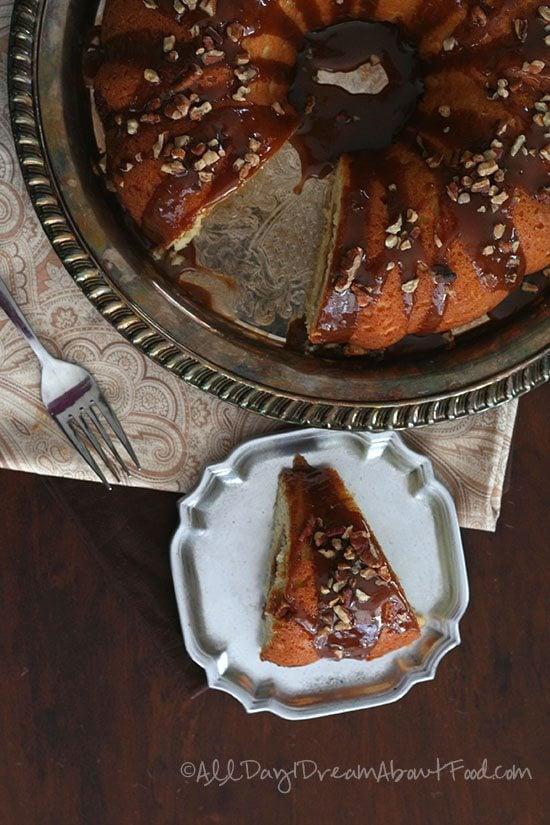 Low Carb Sticky Bun Coffee Cake Recipe