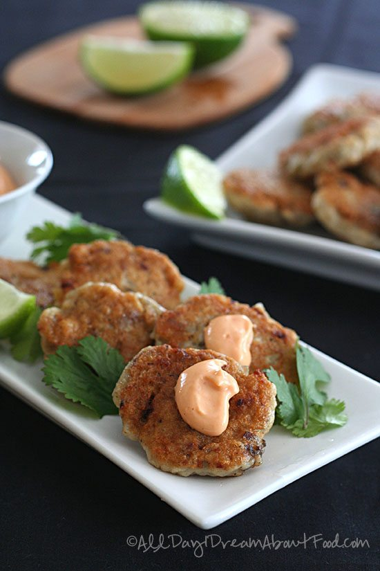 Low Carb Thai Fish Cakes Recipe