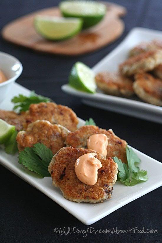 Low Carb Thai Fish Cakes Recipe